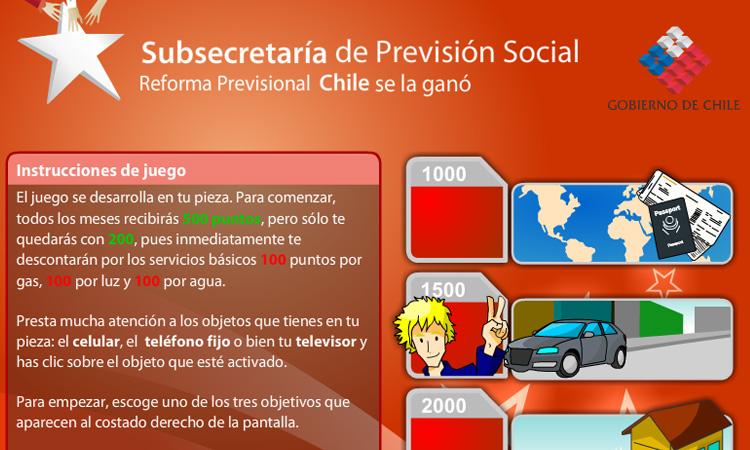 Juego Previsión Social